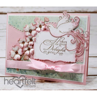 Heartfelt Creations aus USA Limited Edition! HEARTFELT Kollektion: Flowering Dogwood & Doves