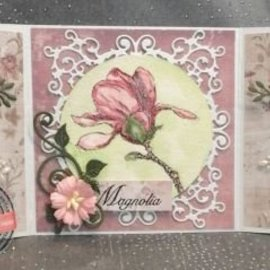 Joy!Crafts / Jeanine´s Art, Hobby Solutions Dies /  modèle POINTAGE: cadre romantique SET: rectangle, Cirkel et coin