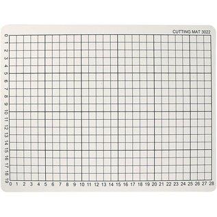 BASTELZUBEHÖR, WERKZEUG UND AUFBEWAHRUNG 1 cutting mat, size 22x30 cm, thickness: 3 mm