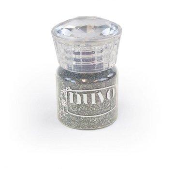 BASTELZUBEHÖR, WERKZEUG UND AUFBEWAHRUNG Glitter Embossing pulver, sølv 22 ml!