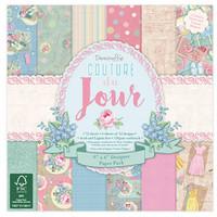 Couture Du Jour - Scrapbooking Paper 15.2 x 15.2 cm, 72 sheets