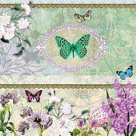 DECOUPAGE AND ACCESSOIRES 4 Designer Decoupage napkins in vintage design