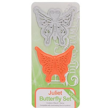 Tonic Studio´s Stanzshablone en stempel: Butterfly Felicity