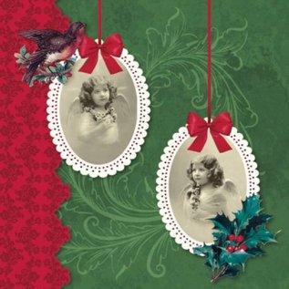 DECOUPAGE AND ACCESSOIRES 4 ontwerper Decoupage servetten, Vintage Christmas