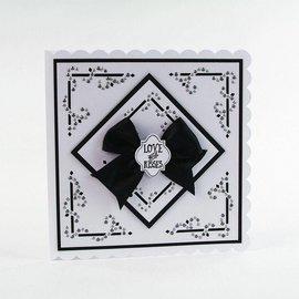 Tonic Studio´s stampi di taglio: Dot & Drop, Diamante d'angolo
