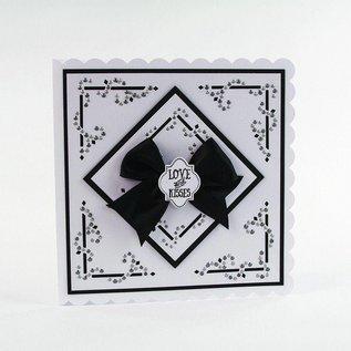 Tonic Studio´s Cutting dies: Dot & Drop, Diamond Corner