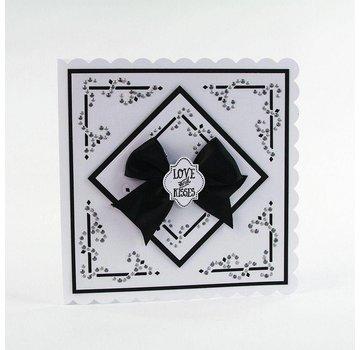 Tonic Studio´s Stanzschablonen: Dot & Drop, Diamond Corner