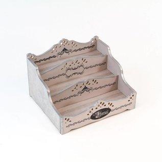 Holz, MDF, Pappe, Objekten zum Dekorieren Houten decoratie: Creative Storage