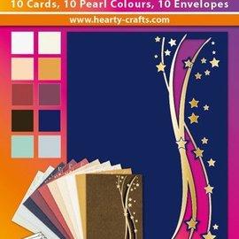 KARTEN und Zubehör / Cards 10 carte doppie di lusso con le buste