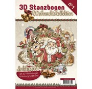 BASTELSETS / CRAFT KITS Stanzbogenbuch with 24 3D punching sheets and 8 background pictures !!