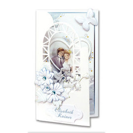 BASTELSETS / CRAFT KITS Set artigianale per biglietti d'invito di nozze