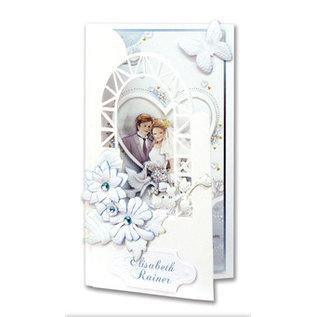 BASTELSETS / CRAFT KITS Knutselset voor bruiloft uitnodigingskaarten