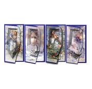 BASTELSETS / CRAFT KITS Set di carte per il design di 4 carte Piramide