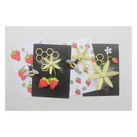 Joy!Crafts / Jeanine´s Art, Hobby Solutions Dies /  Punching stencils + stamps: bees