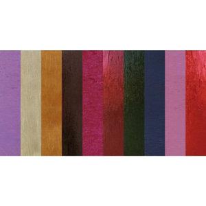 Karten und Scrapbooking Papier, Papier blöcke Boîte métallique à motifs, 10 feuilles, 230gr