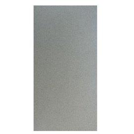 Karten und Scrapbooking Papier, Papier blöcke Metallic cardstock, 15x30cm, silver
