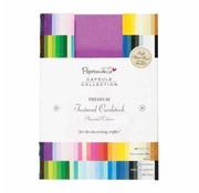 Karten und Scrapbooking Papier, Papier blöcke A6 Solid Premium Cardstock