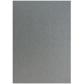Karten und Scrapbooking Papier, Papier blöcke estructura de lino metálico en plata