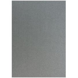 Karten und Scrapbooking Papier, Papier blöcke Structure de lin en argent métallique