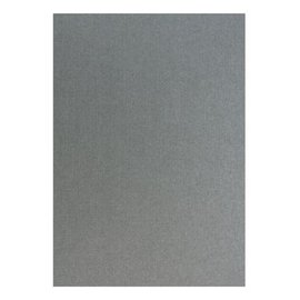Karten und Scrapbooking Papier, Papier blöcke Struttura di lino metallico in argento