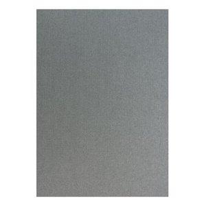 Karten und Scrapbooking Papier, Papier blöcke Metallic linen structure in silver