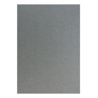 Karten und Scrapbooking Papier, Papier blöcke Metallic linnen structuur in zilver