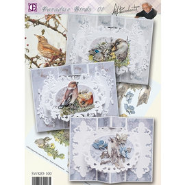BASTELSETS / CRAFT KITS Complete map set: Paradise Birds