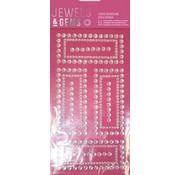 Embellishments / Verzierungen NEU! Selbstklebende Glitzer Steinchen in Zierrahmen