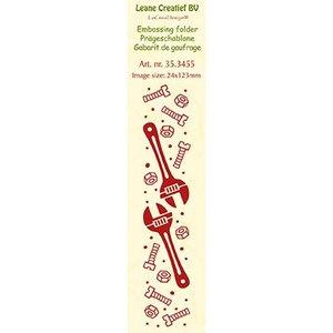 Leane Creatief - Lea'bilities und By Lene Embossingsfolder: Werkzeuge