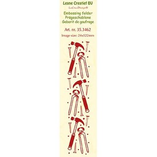 Leane Creatief - Lea'bilities und By Lene Embossingsfolder: Hulpmiddelen