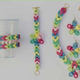 Nellie Snellen Stamping template: border for the design of various bracelets