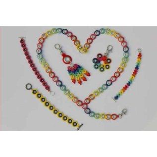 Nellie Snellen Ponssjabloon: rand voor het ontwerpen van verschillende armbanden