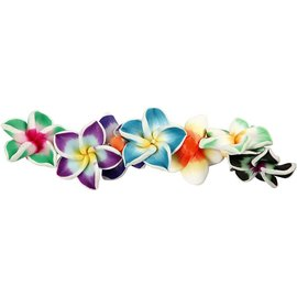 Embellishments / Verzierungen Embellishments: 8 bonitas flores en 3d