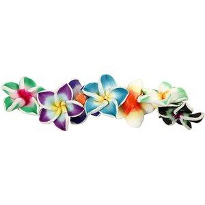 Embellishments / Verzierungen Embellishments: 8 jolies fleurs 3D