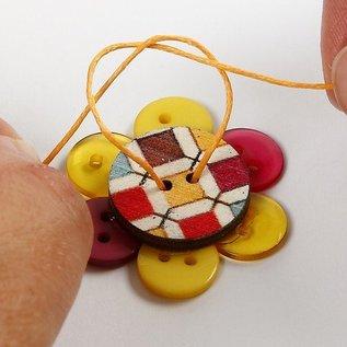Embellishments / Verzierungen Knopf Mix Sortiment , D: 12+18+20 mm, 20 Stück, Sortierte Farben
