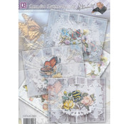BASTELSETS / CRAFT KITS Compleet Card Set Paradise Butterflies 02