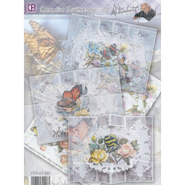 BASTELSETS / CRAFT KITS Complete map set: Paradise Butterflies 02