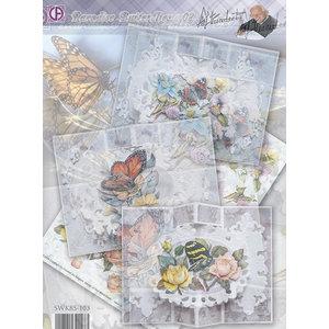 BASTELSETS / CRAFT KITS Compleet Card Set Paradise Butterflies 02
