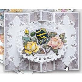 BASTELSETS / CRAFT KITS Komplett sett med kort: vakre sommerfuglkort