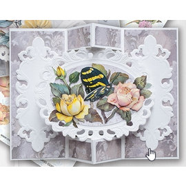 BASTELSETS / CRAFT KITS Set completo di carte: bellissime carte farfalla