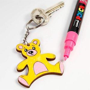 Objekten zum Dekorieren / objects for decorating Bastelset: 10 Schlüssel- oder Handy Anhänger - LETZTE VORRÄTIG!