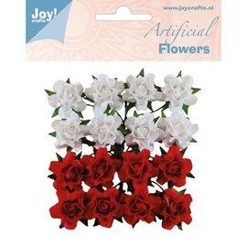 Joy!Crafts / Jeanine´s Art, Hobby Solutions Dies /  16 flores de plástico