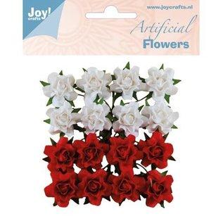 Joy!Crafts / Jeanine´s Art, Hobby Solutions Dies /  16 plastic bloemen