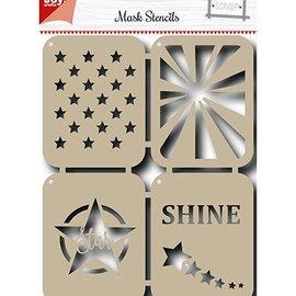 Joy!Crafts / Jeanine´s Art, Hobby Solutions Dies /  Máscara de la plantilla: Estrellas