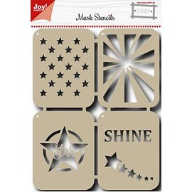 Joy!Crafts / Jeanine´s Art, Hobby Solutions Dies /  Mask Stencil: Stars