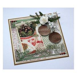 Joy!Crafts / Jeanine´s Art, Hobby Solutions Dies /  Stanzschablone: Pine Zweige und Holly - NUR noch 1 vorrätig!