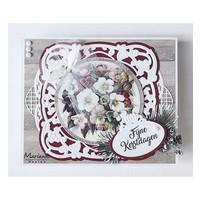 Stanzschablone: Zierrahmen, Anja ornamental frame