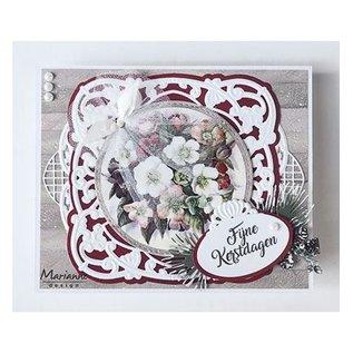 Marianne Design Ponsen sjabloon: sierlijst, sierlijst Anja