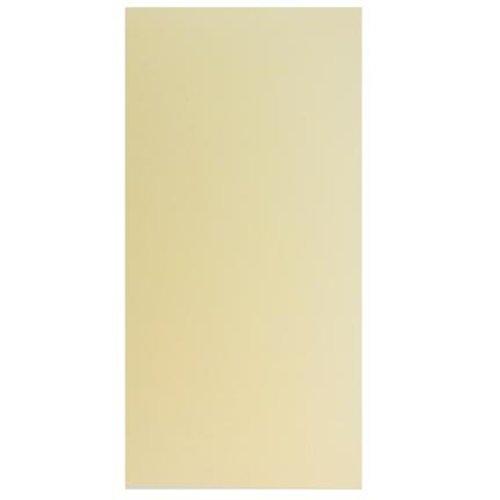 Karten und Scrapbooking Papier, Papier blöcke papier cartonné métallique, 15x30cm, Ivoor