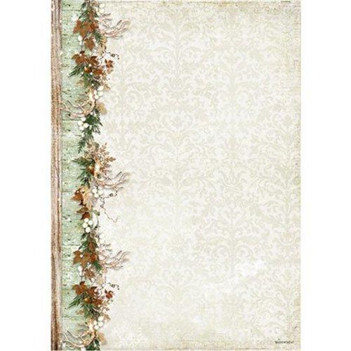 Karten und Scrapbooking Papier, Papier blöcke A4-blad, Woodland